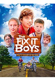The Fix It Boys kapak