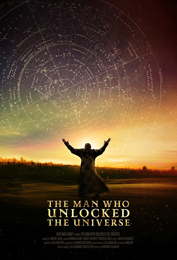 The Man Who Unlocked the Universe kapak