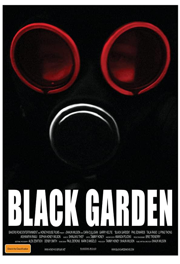 Black Garden kapak