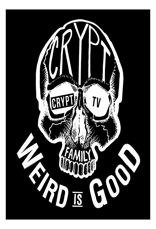 Crypt TV's Monster Madness kapak