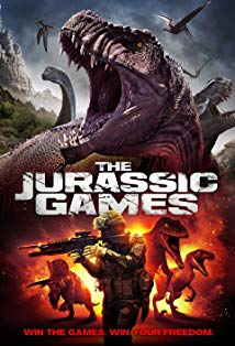 The Jurassic Games kapak
