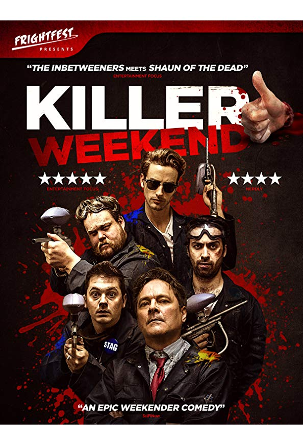 Killer Weekend kapak