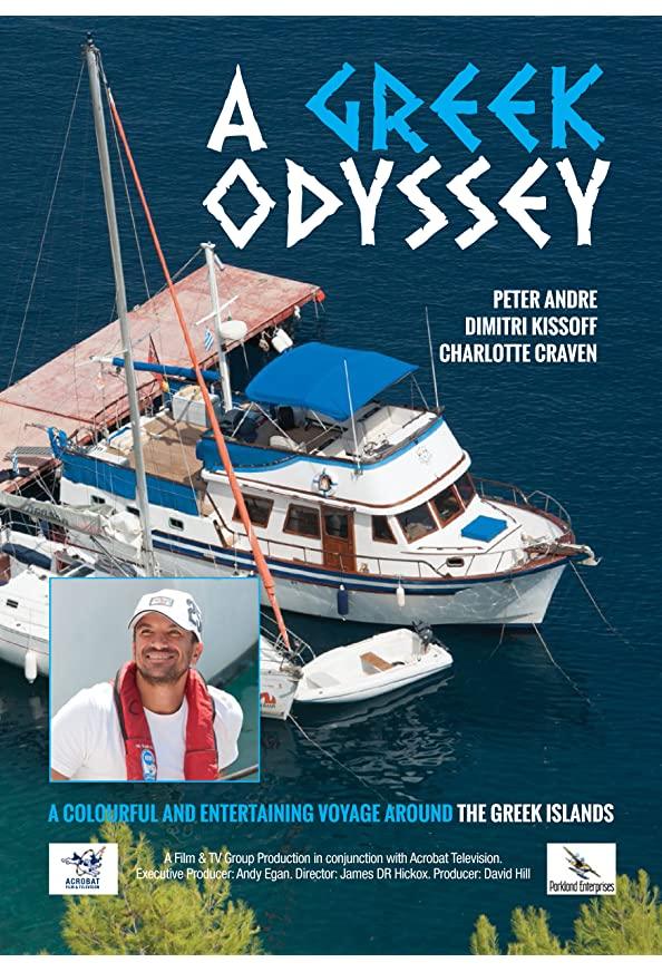 Peter Andre's Greek Odyssey kapak