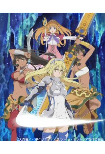 Is It Wrong to Try to Pick Up Girls in a Dungeon?: Sword Oratoria kapak