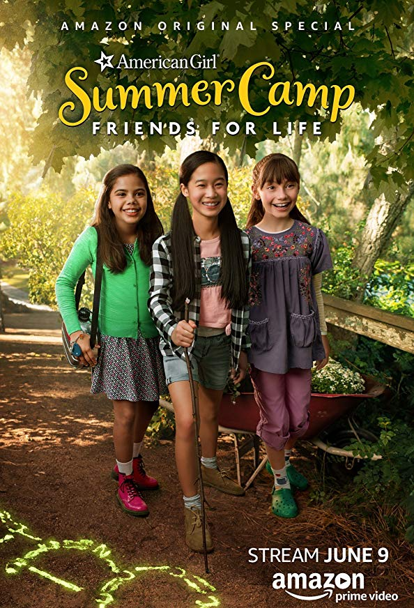 An American Girl Story: Summer Camp, Friends for Life kapak