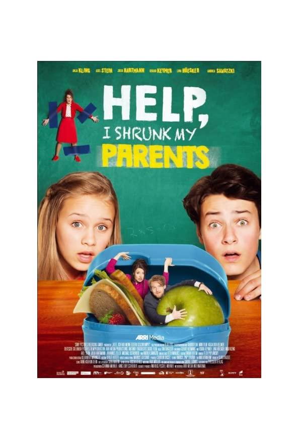Help, I Shrunk My Parents kapak