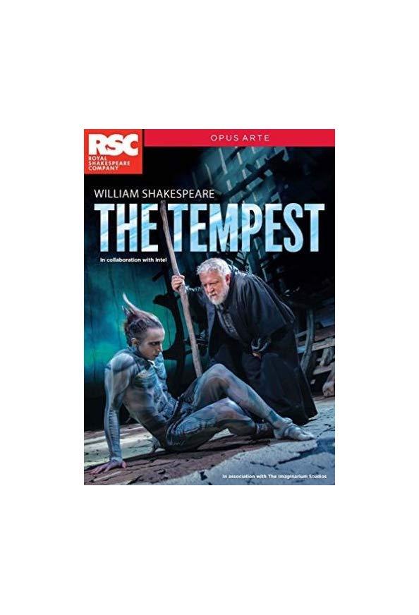 RSC Live: The Tempest kapak