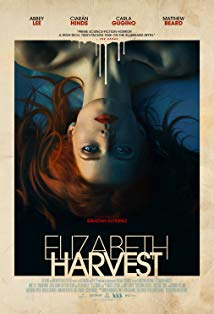 Elizabeth Harvest kapak