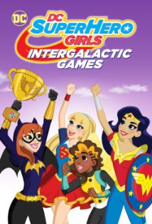 DC Super Hero Girls: Intergalactic Games kapak