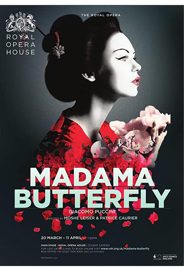 The Royal Opera House: Madama Butterfly kapak