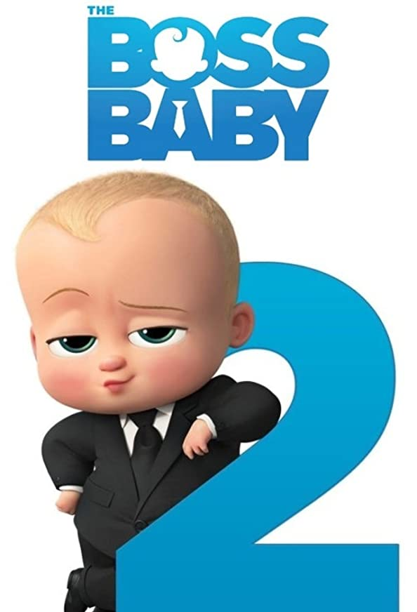 The Boss Baby 2 kapak