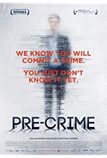 Pre-Crime kapak