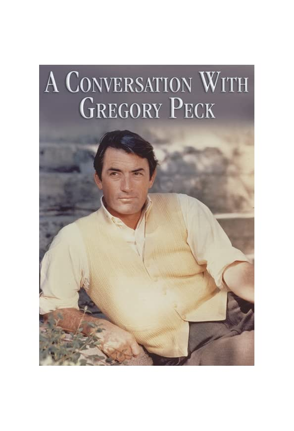 A Conversation with Gregory Peck kapak