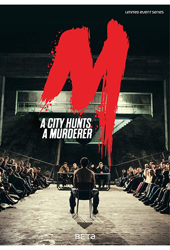 M - A City Hunts a Murderer kapak