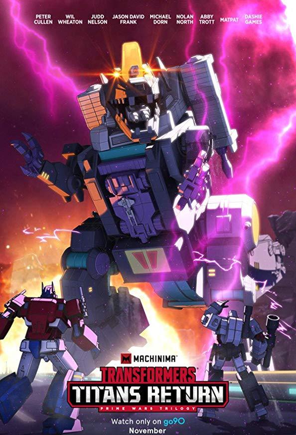 Transformers: Titans Return kapak