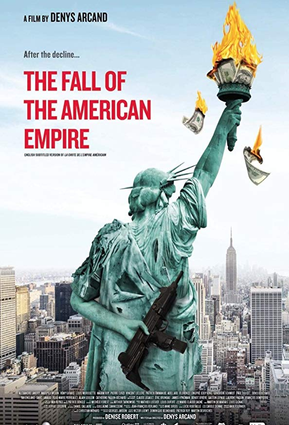 The Fall of the American Empire kapak
