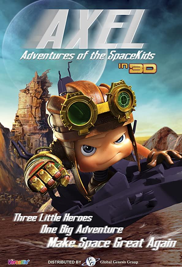 Axel 2: Adventures of the Spacekids kapak