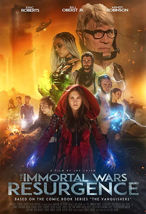 The Immortal Wars: Resurgence kapak