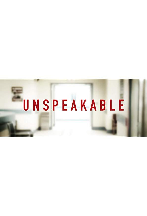 Unspeakable kapak