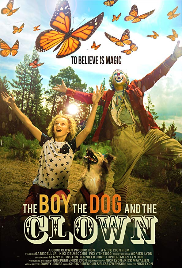 The Boy, the Dog and the Clown kapak