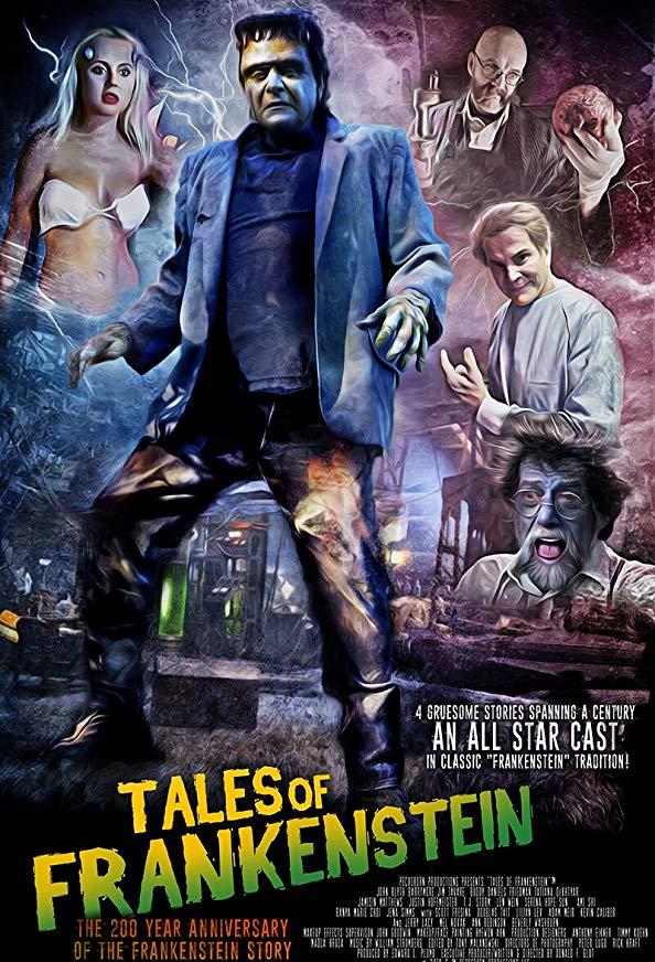 Tales of Frankenstein kapak