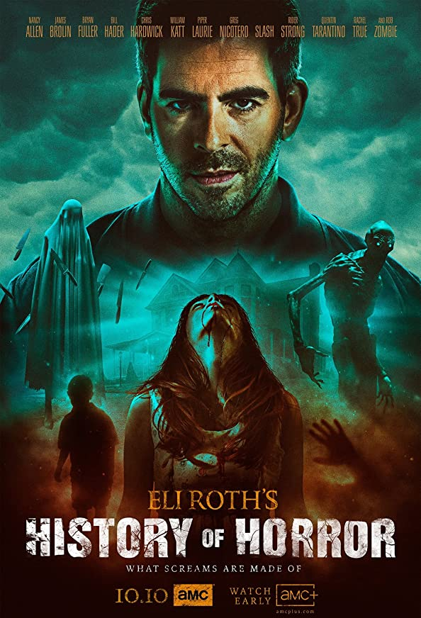 Eli Roth's History of Horror kapak