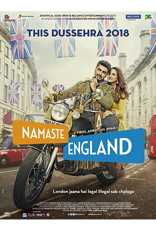 Namaste England kapak