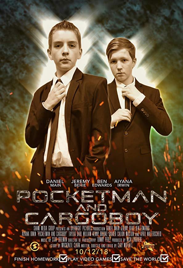 Pocketman and Cargoboy kapak
