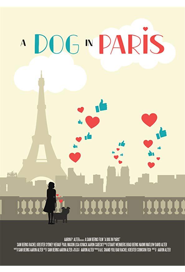 A Dog In Paris kapak