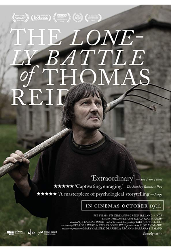 The Lonely Battle of Thomas Reid kapak