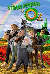 The Steam Engines of Oz kapak
