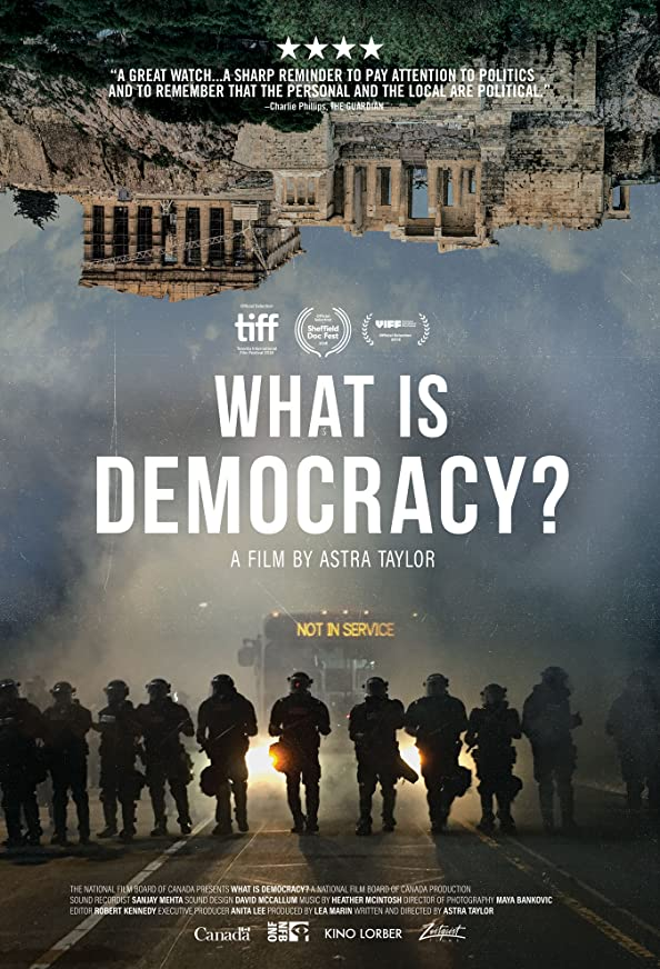 What Is Democracy? kapak