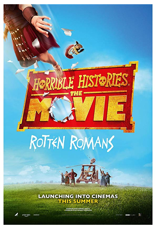 Horrible Histories: The Movie - Rotten Romans kapak