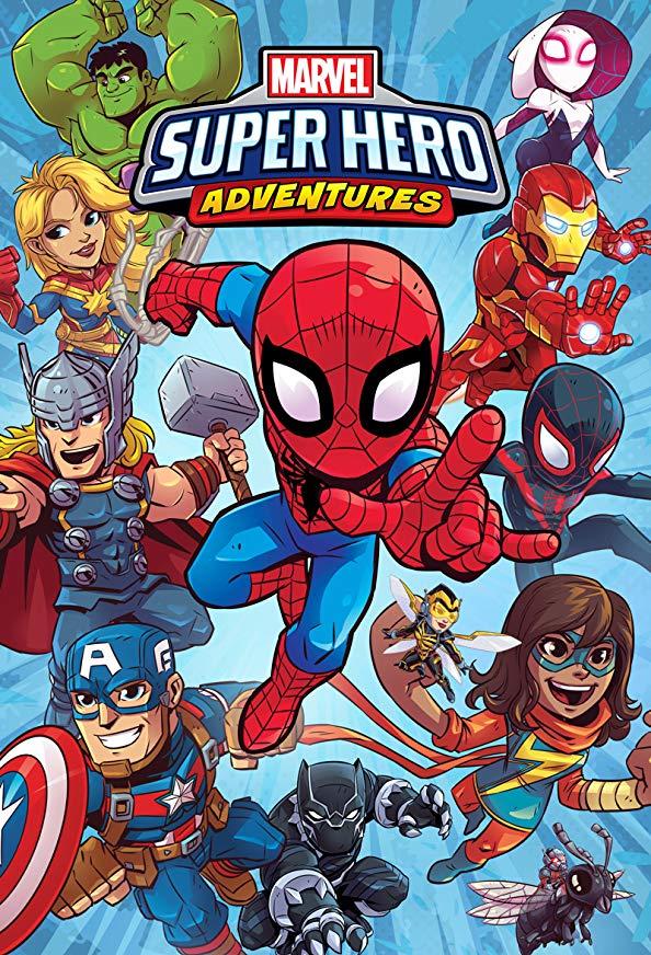 Marvel Super Hero Adventures kapak