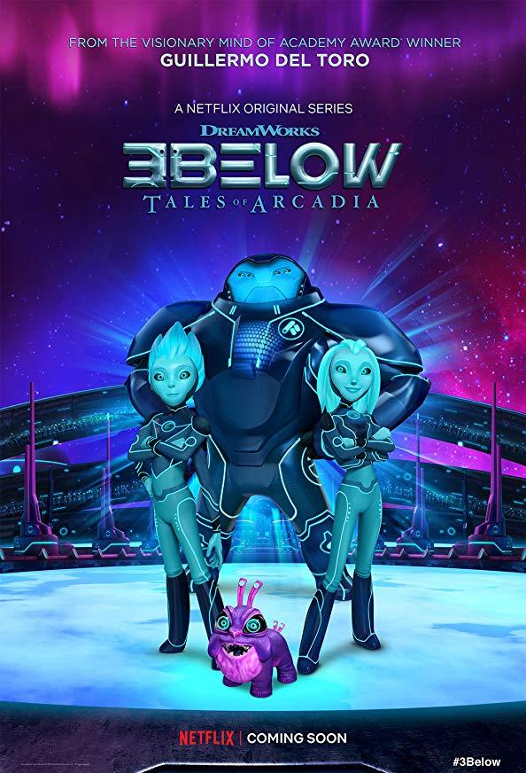 Tales of Arcadia: 3Below kapak