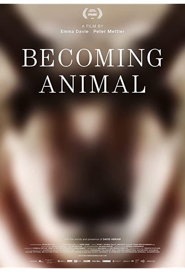 Becoming Animal kapak