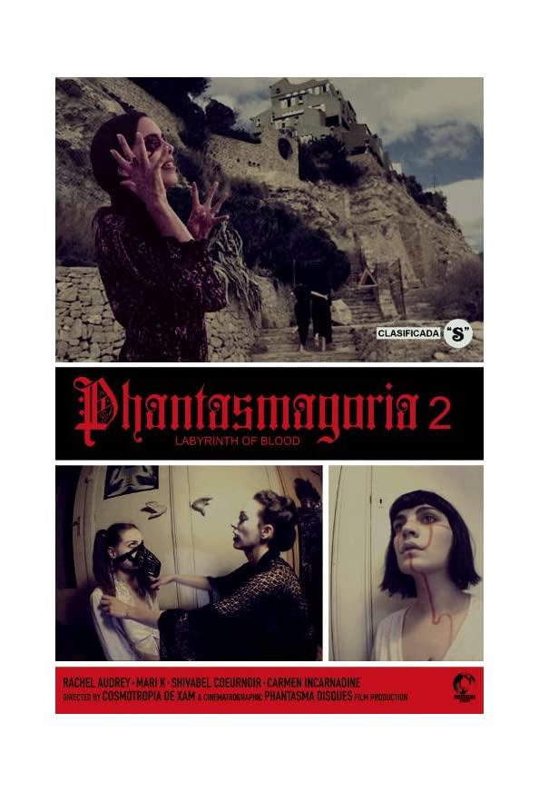 Phantasmagoria 2: Labyrinths of blood kapak