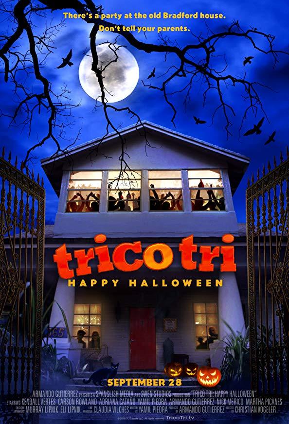 Trico Tri Happy Halloween kapak