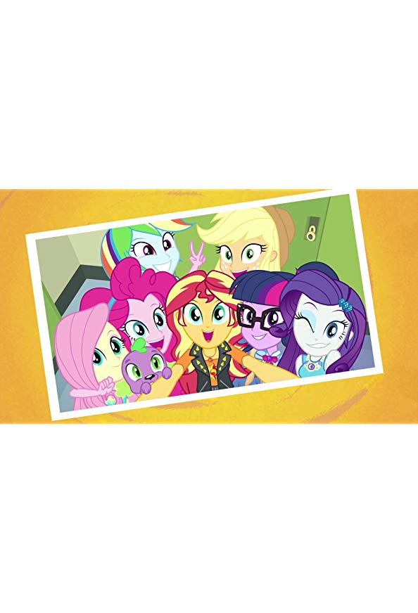 My Little Pony Equestria Girls: Forgotten Friendship kapak