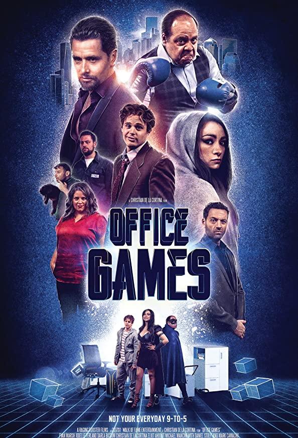 The Office Games kapak