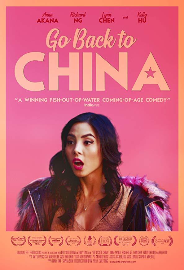 Go Back to China kapak