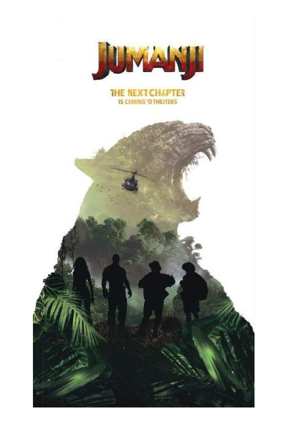 Untitled Jumanji: Welcome to the Jungle Sequel kapak