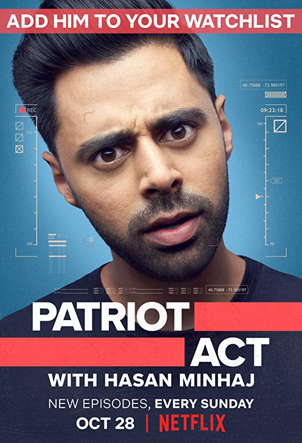 Patriot Act with Hasan Minhaj kapak