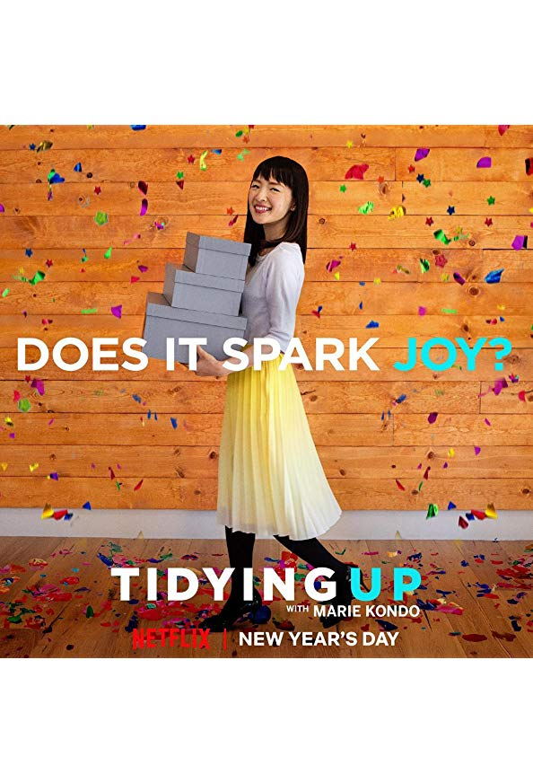 Tidying Up with Marie Kondo kapak
