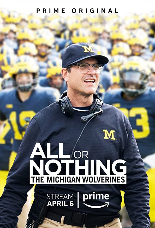 All or Nothing: The Michigan Wolverines kapak