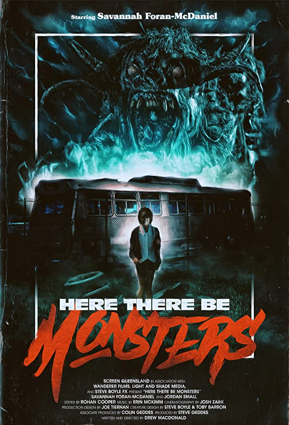Here There Be Monsters kapak