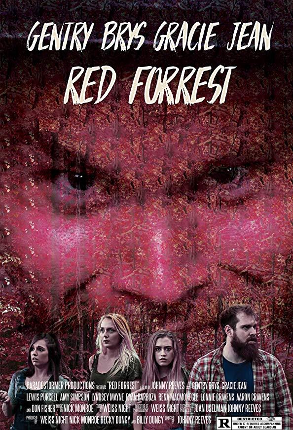 Red Forrest kapak