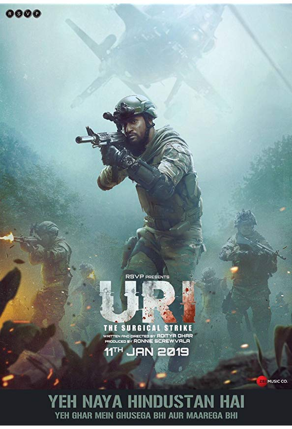 Uri: The Surgical Strike kapak