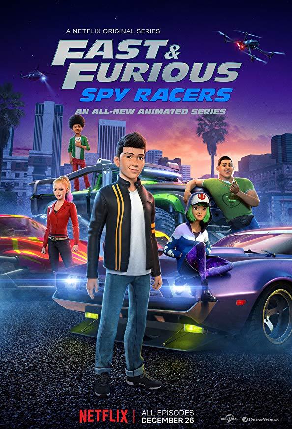 Fast & Furious: Spy Racers kapak