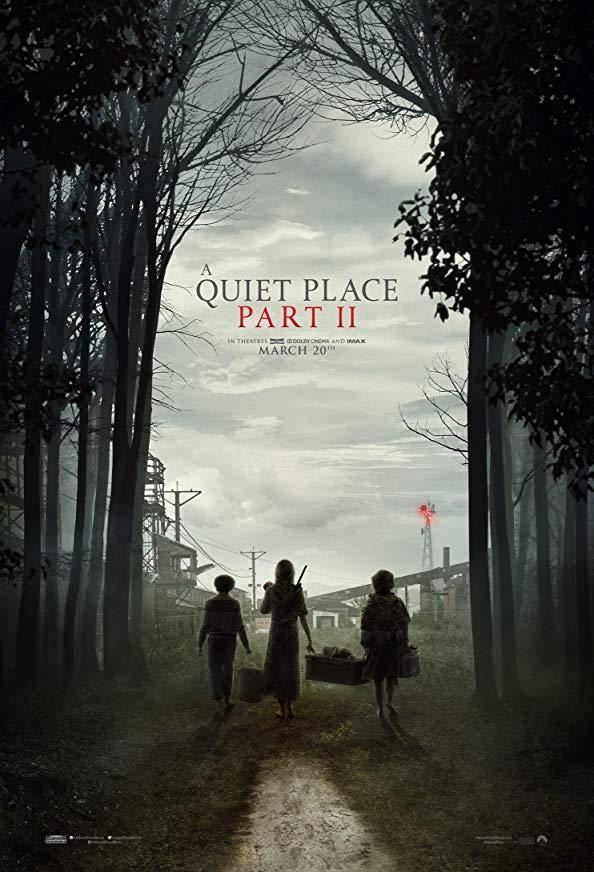 A Quiet Place Part II kapak